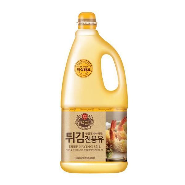 CJ 백설튀김전용유 1.8L 상품이미지