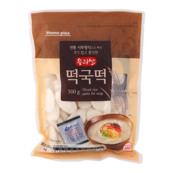 홈플러스좋은상품 우리쌀 떡국떡 500G 상품이미지