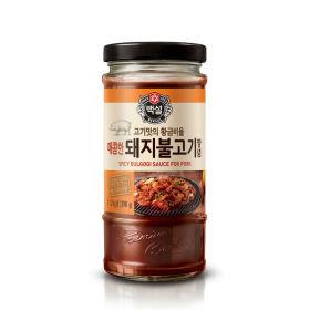 CJ_백설매콤한돼지불고기양념_290G