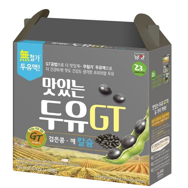 (행사상품)남양 맛있는두유GT검은콩깨 190MLx16 상품이미지