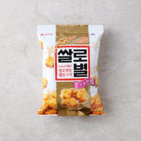 (균일가)롯데_쌀로별오리지널_62G