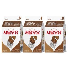 (행사상품)서울_쵸코우유_200MLx3