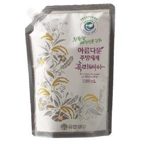 (1+1)친환경 유한양행_아름다운주방세제흑미배아리필_1.1L