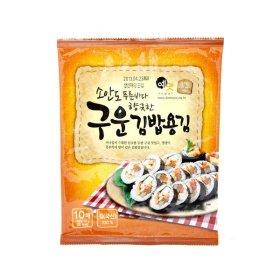 _소안도푸른바다향긋한구운김밥용김_10매 20g