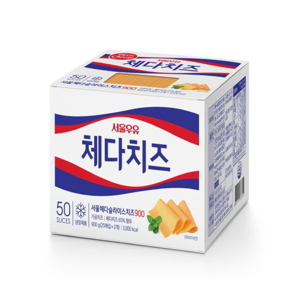 (1+1)서울 체다치즈 900g 상품이미지