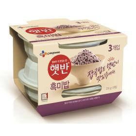 (2+1)CJ_햇반흑미밥_210Gx3