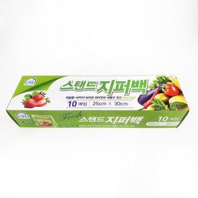 (2+1)천원 _스탠드지퍼백_25CMx30CMx10매