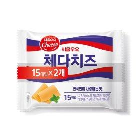 서울_체다슬라이스치즈_300Gx2