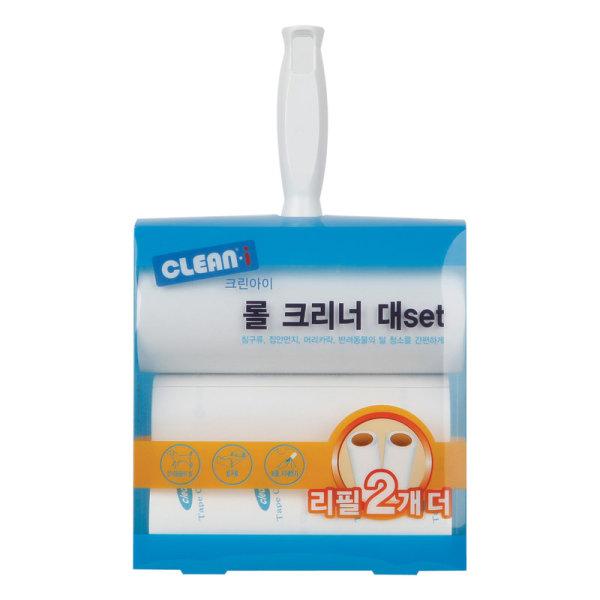 크린아이_롤크리너대세트 핸들 1P+ 리필 3P 상품이미지
