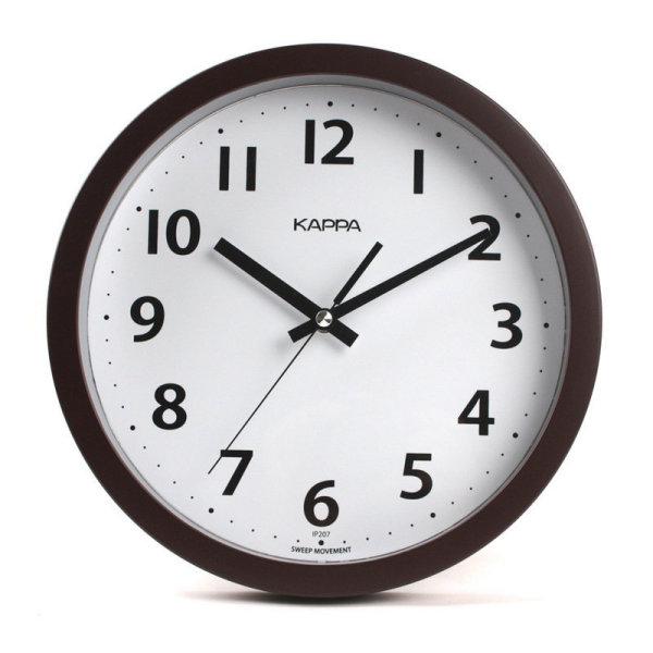 카파_브라운심플모던벽시계_26 상품이미지