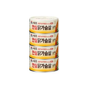 사조 리얼훈제닭가슴살 135Gx4
