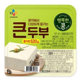 씨제이_행복한콩큰두부_520g