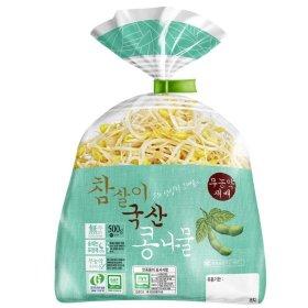 참살이_국산콩나물_500g