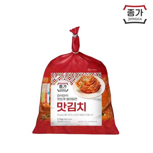 대상종가집 맛있는 맛김치 1.7kg 상품이미지