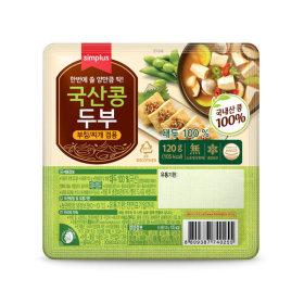 simplus_국산콩두부_120G