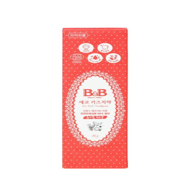 (1+1)보령 B B에코키즈치약 80G 상품이미지