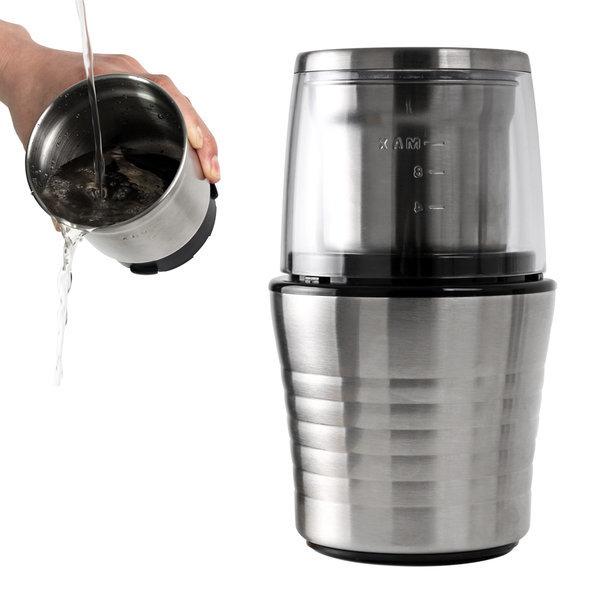 세라믹 핸드밀 커피 그라인더 원목 커피분쇄기 상품이미지