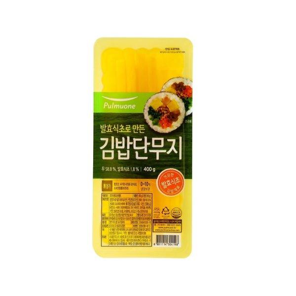 풀무원 김밥단무지 400G 상품이미지