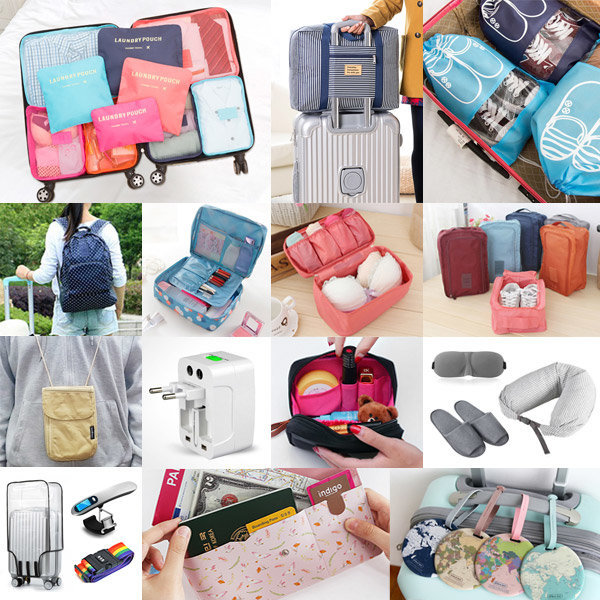 여행용 파우치 120종 해외 여행용품 여행준비물 속옷 상품이미지