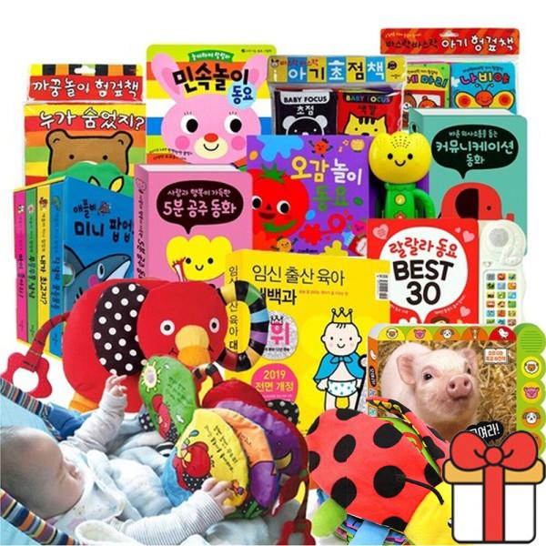 아기초점책 헝겊책 인기 사운드북 모음전 60종+사은품 상품이미지
