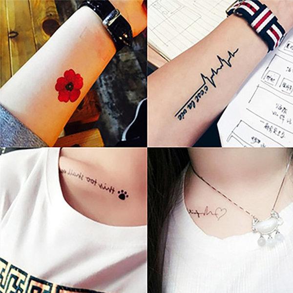 5+2타투스티커/헤나/레터링/문신/tattoo/컬러패션타투 상품이미지