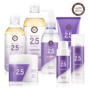 HAPPY BATH Micro 2.5 facial cleansing collection + giveaway