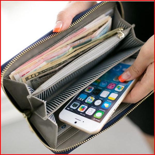 프롬비 베일리 장지갑 싱글지퍼 천연소가죽 지폐 SD 상품이미지