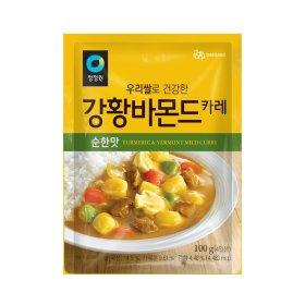 대상_청정원우리쌀강황바몬드순한맛_100G