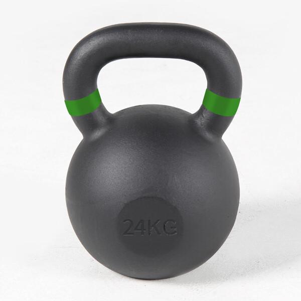(현대Hmall) 바디엑스 솔리드 아이런 블랙케틀벨 24kg/아령/덤벨/바벨/케틀벨 상품이미지