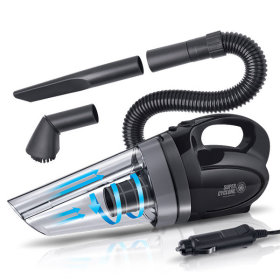 FOURING Car vacuum cleaner / Super cyclone / hepa Filter / 150 W /  powerful suction /