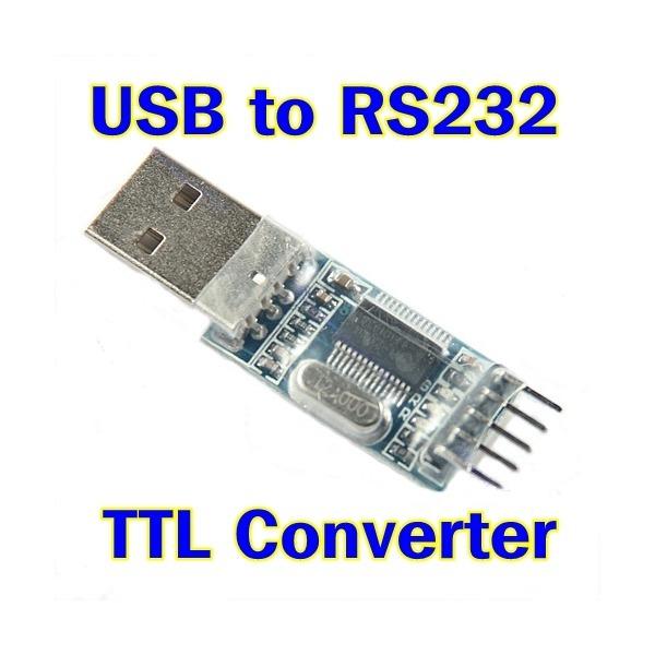 파츠키츠/USB to RS232 TTL컨버터/PL2303시리얼어댑터 상품이미지