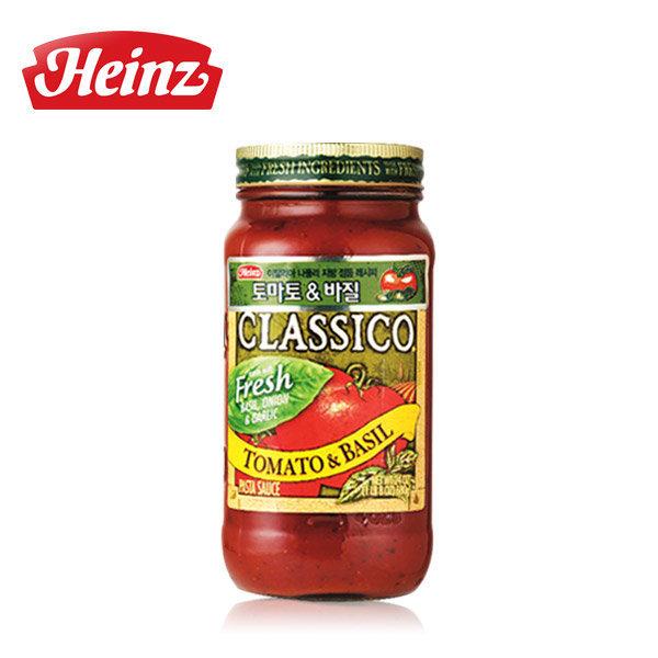 하인즈 클래시코 토마토 바질 파스타소스 680g 상품이미지