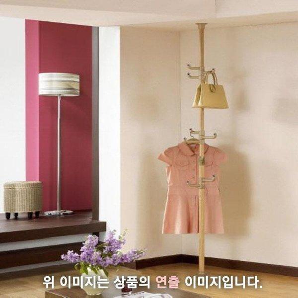 로즈하우스 폴행거 1단:엠보싱우드 상품이미지
