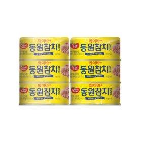 동원 화이바참치 150Gx6