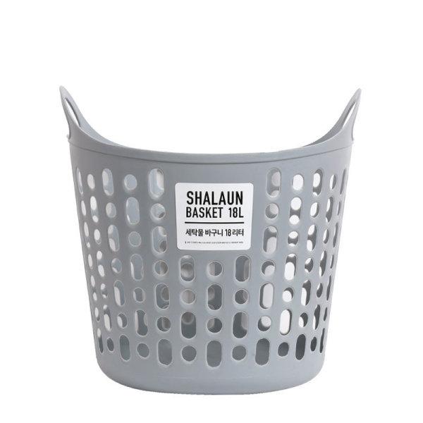 샤바스 세탁물바구니18L 그레이 상품이미지