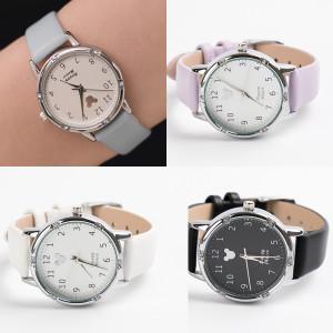 여자 남자 학생 손목 시계 커플 추천 선물 메탈 가죽