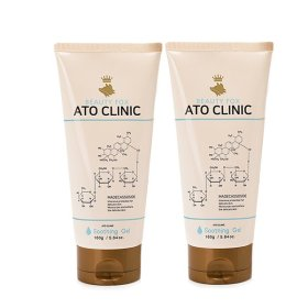 ATO CLINIC Soothing Gel 2pcs/Baby Newborn Baby Moisturizing Skin-Soothing Cooling