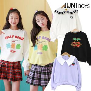 [주니걸즈]봄신상 인기만점 맨투맨 티셔츠/주니어/초등학생