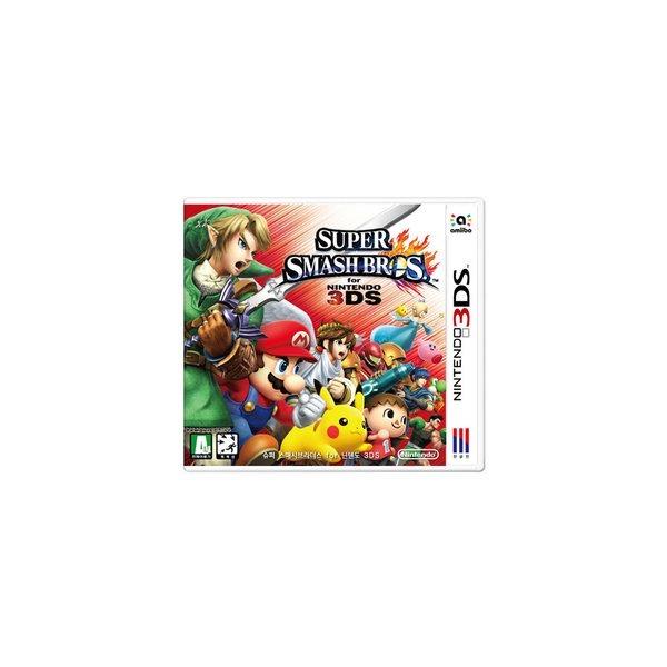 3DS 슈퍼 스매시 브라더스 특전 +마리오피규어 상품이미지