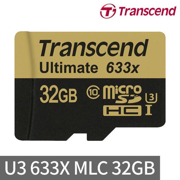 총판 트랜센드 MicroSD 32GB UHS-I U3 4K 633X MLC 상품이미지