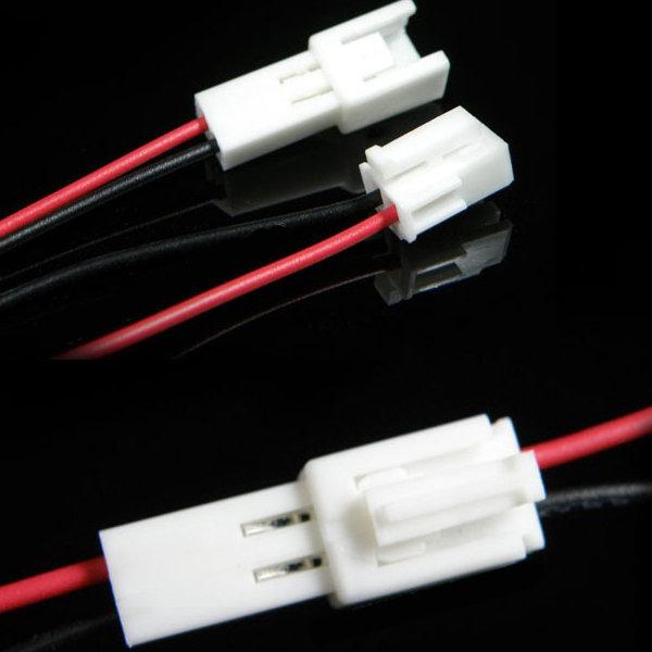 하넥스커넥터2P/3P/4P/5P배선/DIY2색배선/LED작업배선 상품이미지