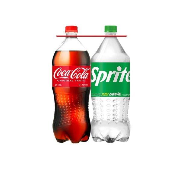 코카콜라 콜라1.5L+스프라이트1.5L기획팩 .. 상품이미지
