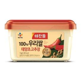 (1+1)CJ_해찬들우리쌀로만든태양초골드고추장_1KG
