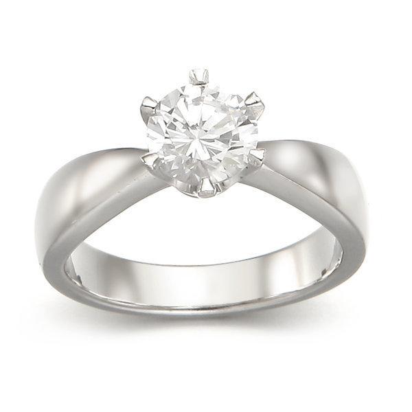 1캐럿 다이아몬드 예물 선물 반지 상품이미지