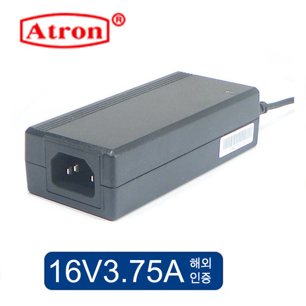 16V아답터 16V3.75A 어댑터 고품질 해외인증제품 상품이미지