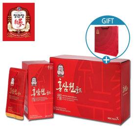 홍삼원골드100mlX24포-선물세트/골드진 쇼핑백증정