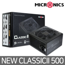 Classic II 500W 12V Single Rail 85 파워서플라이