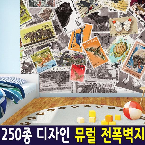 신한 뮤럴아트 스탬프/ 뮤럴벽지 실크벽지 포인트벽지 상품이미지