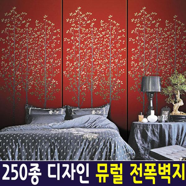 신한 뮤럴아트 엔틱트리/ 뮤럴벽지 포인트벽지 실크 상품이미지