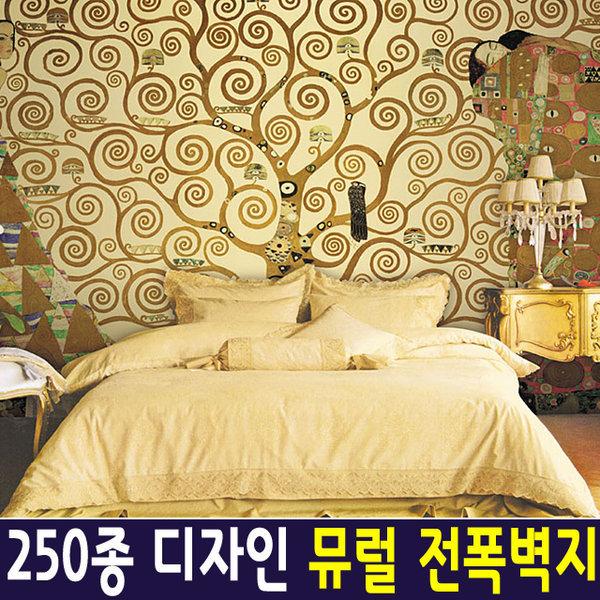 신한 뮤럴아트 생명나무/ 뮤럴벽지 포인트벽지 실크 상품이미지